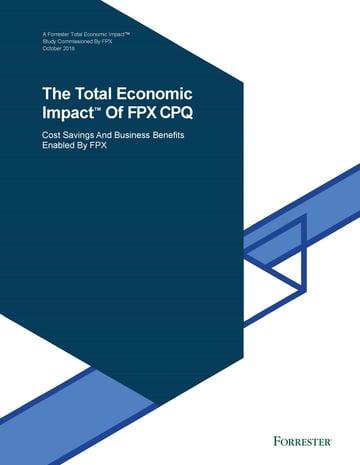 The Total Economic Impact of FPX CPQ