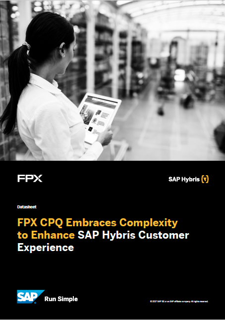 FPX and SAP Hybris data sheet