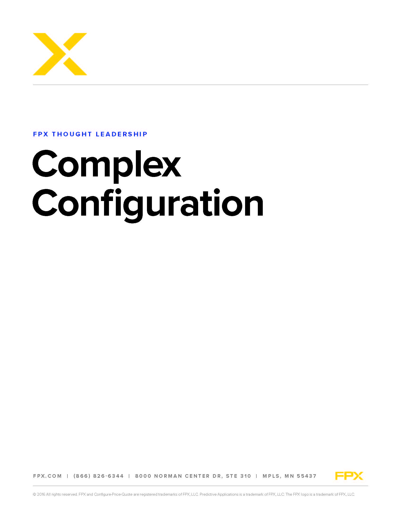 Download the Complex Configuration white paper