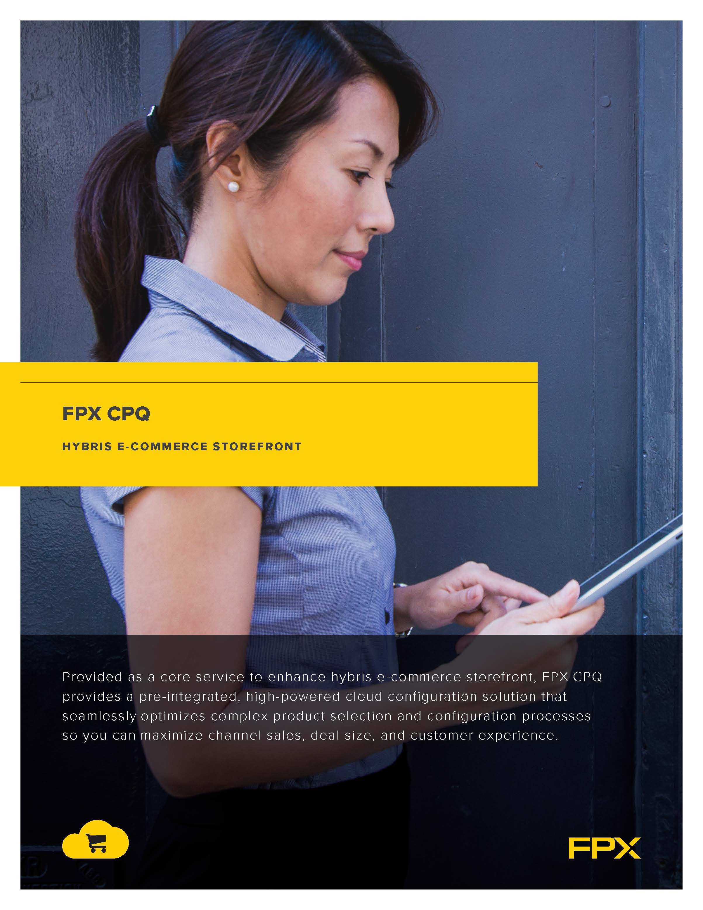 Download the FPX CPQ for SAP Hybris data sheet