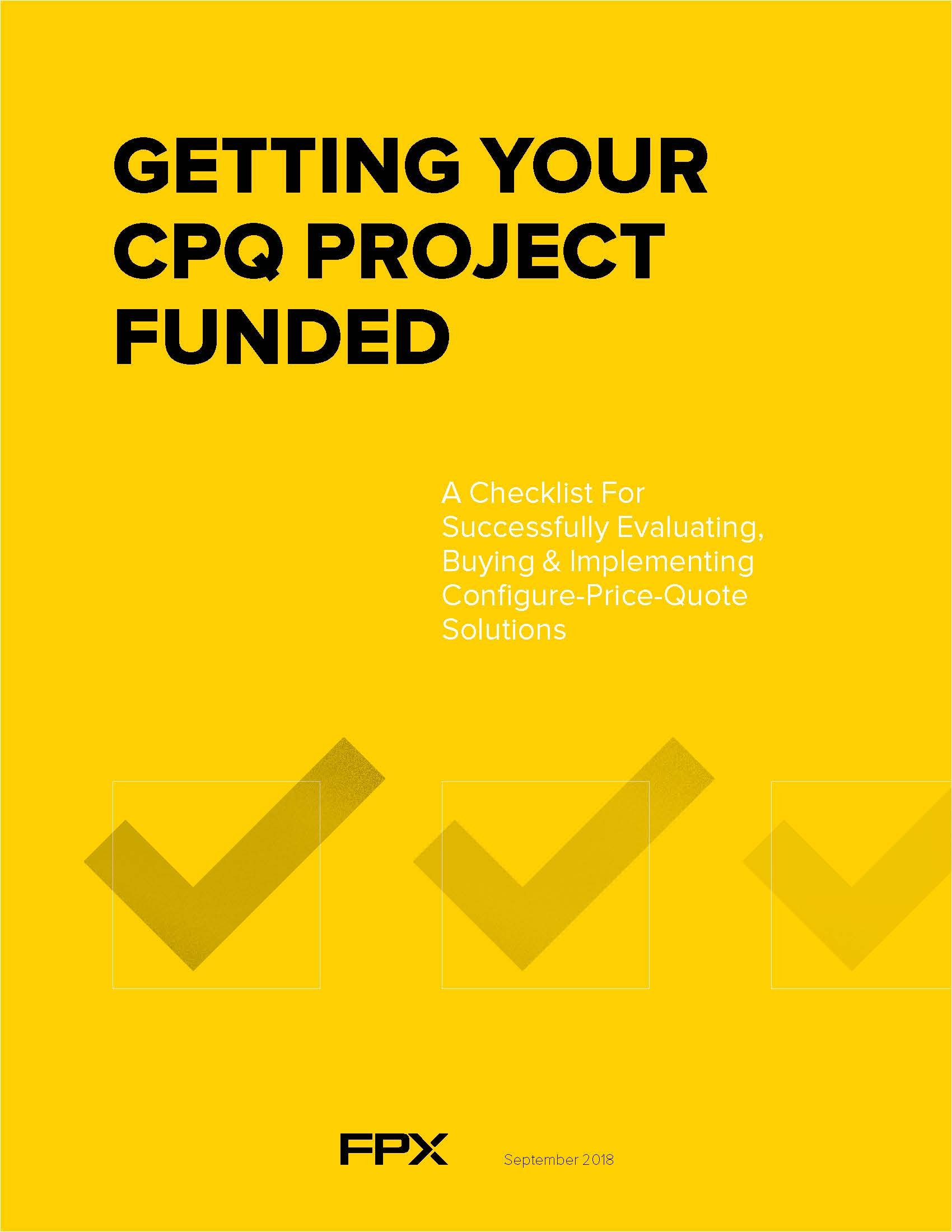 Getting Your CPQ Project Funded_Cover image