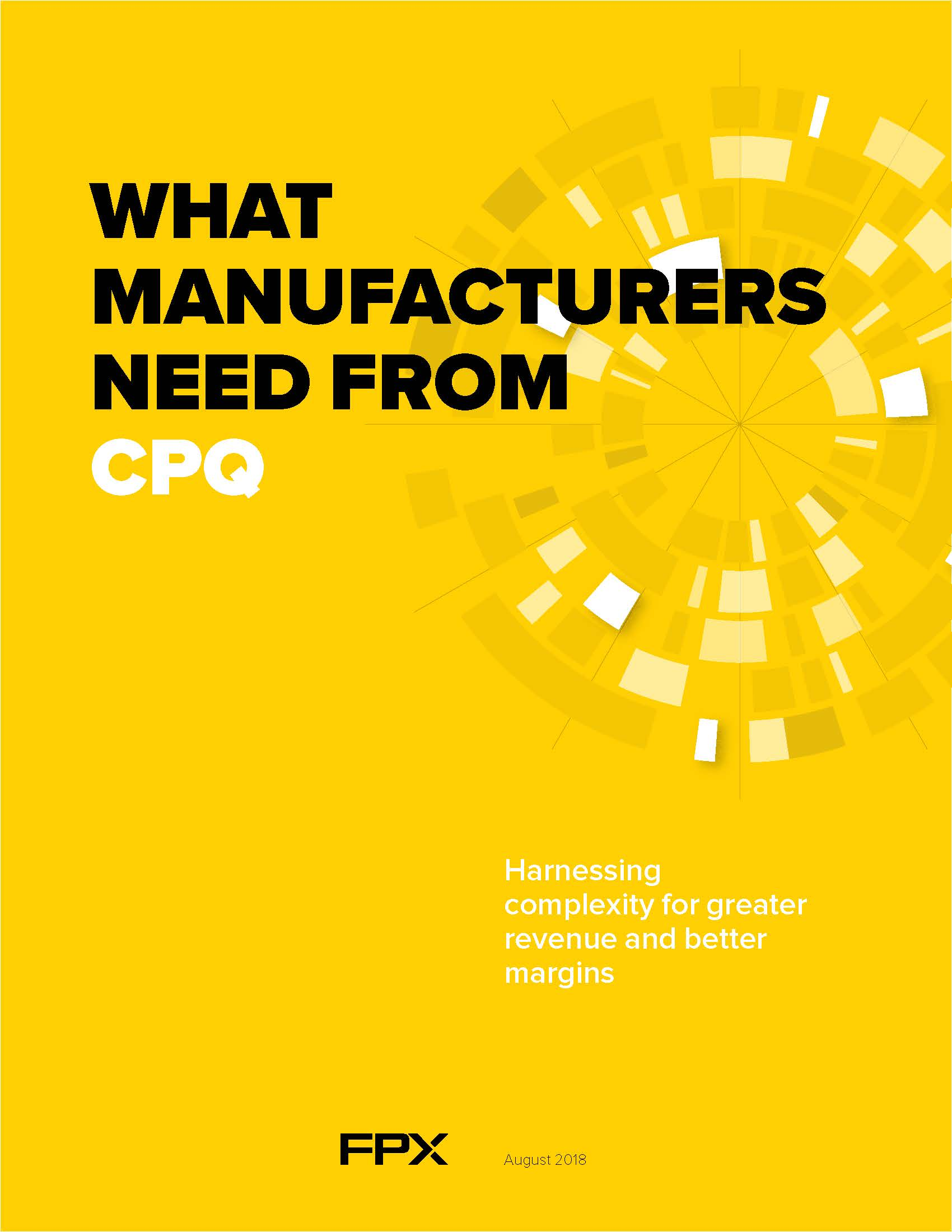 What Manufacturers Need From CPQ Cover