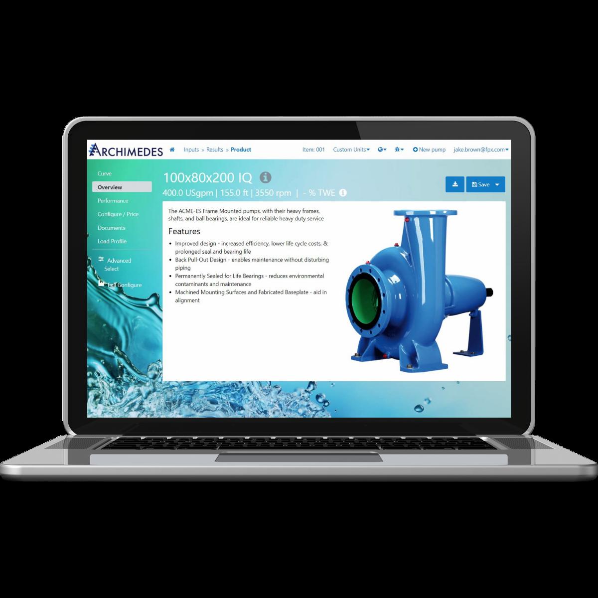 FPX-Intelliquip-Pump-Configuration