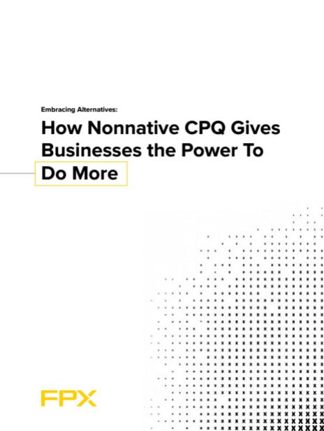 Download the Native vs Nonnative CPQ white paper